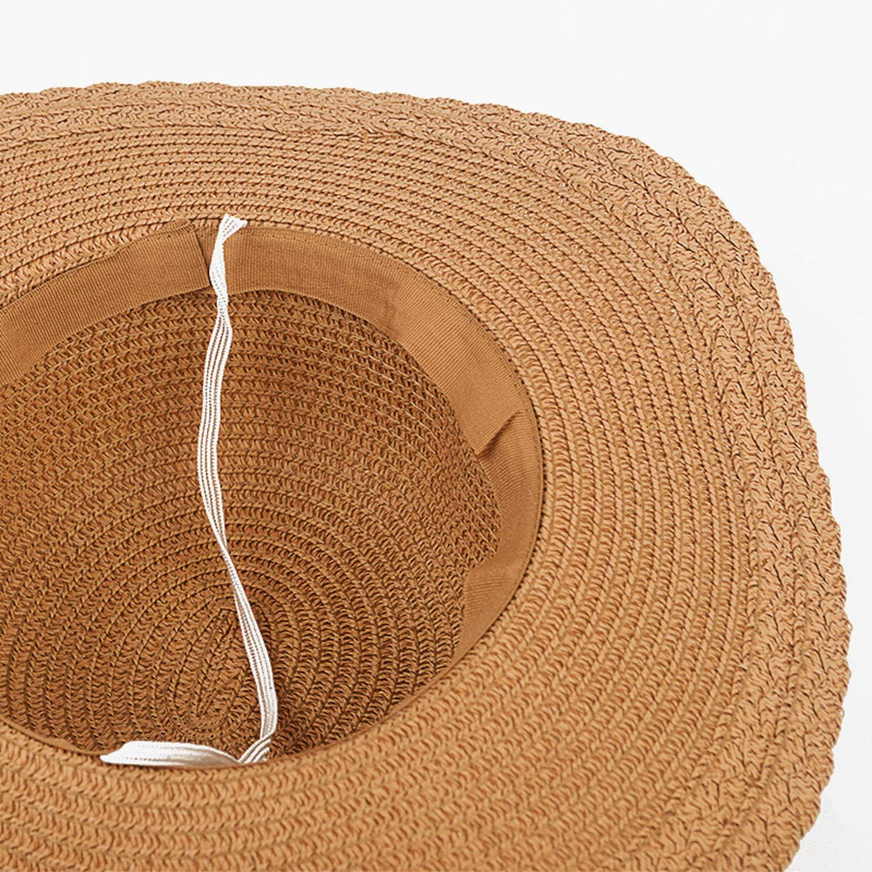 Lace Summer Sun Hats for Women Sombreros Wide Brim Beach Side Cap Floppy Female Straw Hat