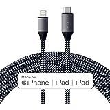 Satechi USB-C ライトニング 充電ケーブル (1.8メートル) Apple MFi認証 (iPhone 11 Plus Max/11 Plus/11, XS Max/XS/XR/X, 8 Plus/8, AirPods 2, 2019 iPad対応)