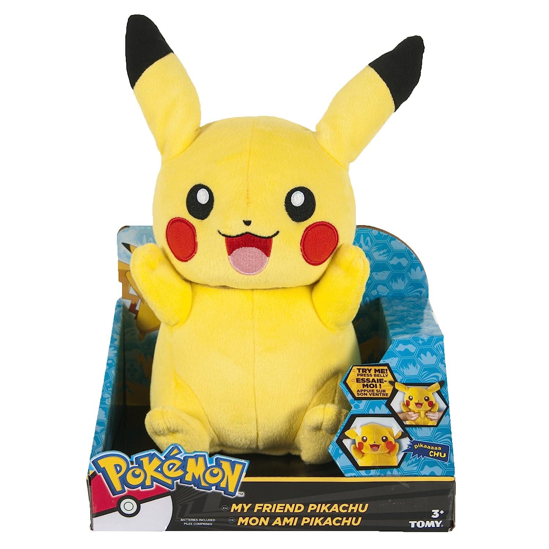 talking pikachu stuffed animal