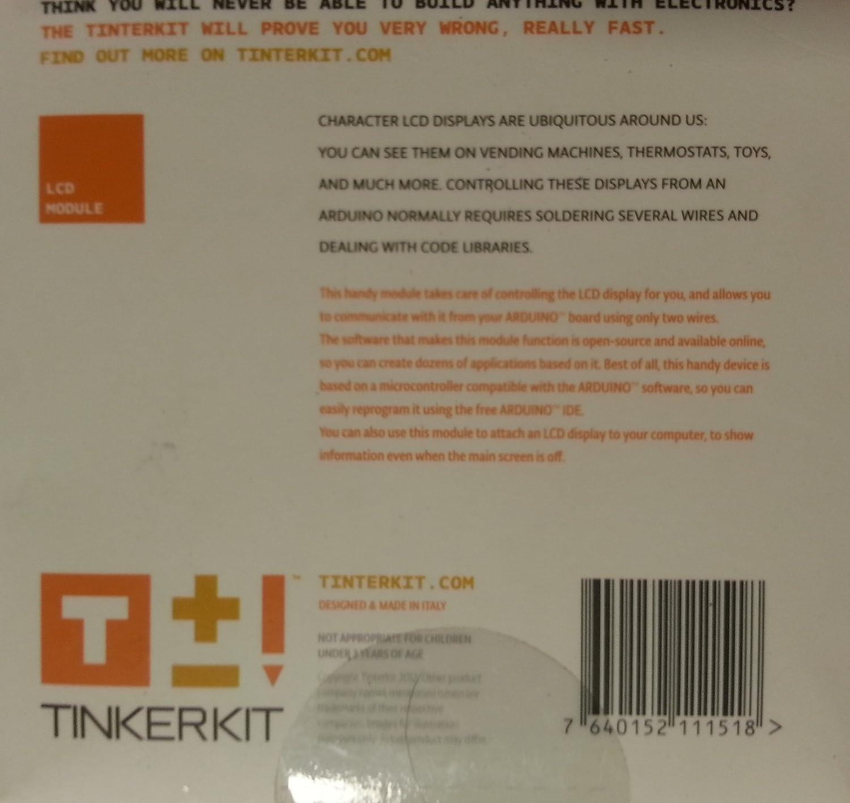 Arduino TINKERKIT T110061 LCD Module