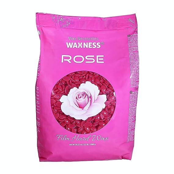 Amazon.com : Wax Necessities Waxness Film Hard Wax Rose 2.2 Pound : Beauty