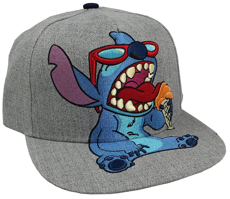 2dcd1ad05b Amazon.com  Concept One Accessories Stitch Snapback Hat Standard Gray   Clothing