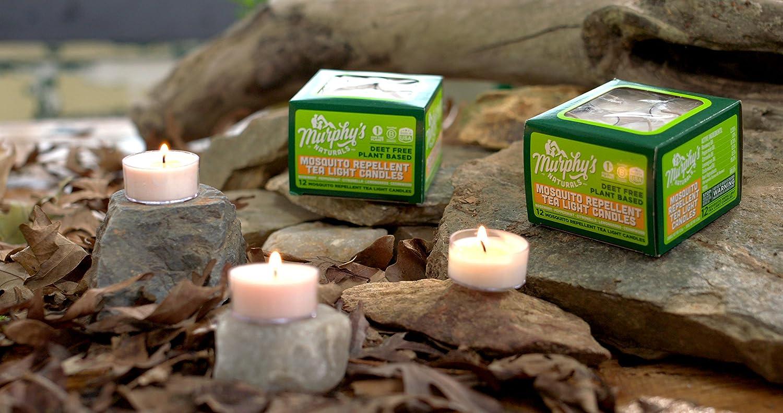 Amazon.com : Murphy\'s Naturals Mosquito Repellent Tea Light Candles ...