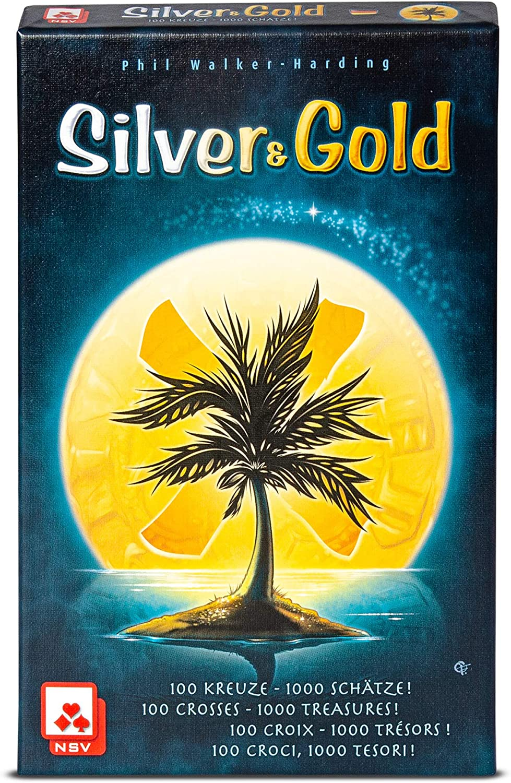 NSV - 4089 - Silver & Gold - International - Juego de Cartas ...