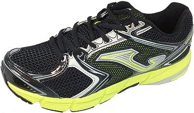 Joma - zapatilla running cbo, talla 43, color negro/verde: Amazon.es: Zapatos y complementos