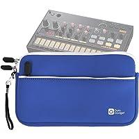 DURAGADGET Housse en néoprène Bleu pour KORG Volca Beats/Bass/Keys/Sample/Sample OK GO/FM/Kick/Modular/Drum/Mix Boîte à rythmes - résistant à l'eau