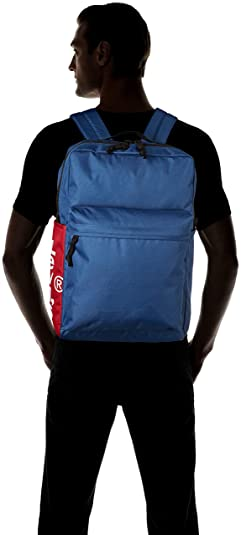 Levis - The L Pack Side Tab, Mochilas Hombre, Azul (Royal Blue), 12x29x45 cm (W x H L): Amazon.es: Zapatos y complementos