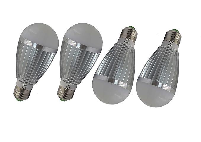 Bombillas LED 220 V 7 W, E27, base A19 equivalent-60 W Luz