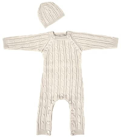 f5ca2e9fb Image Unavailable. Image not available for. Color: Tadpoles Cable Knit  Romper ...