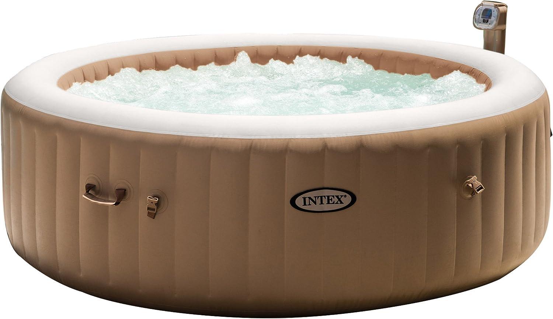 Intex 85in PureSpa Portable Bubble Massage Spa Set Hot Tub- Cheap Hot Tubs