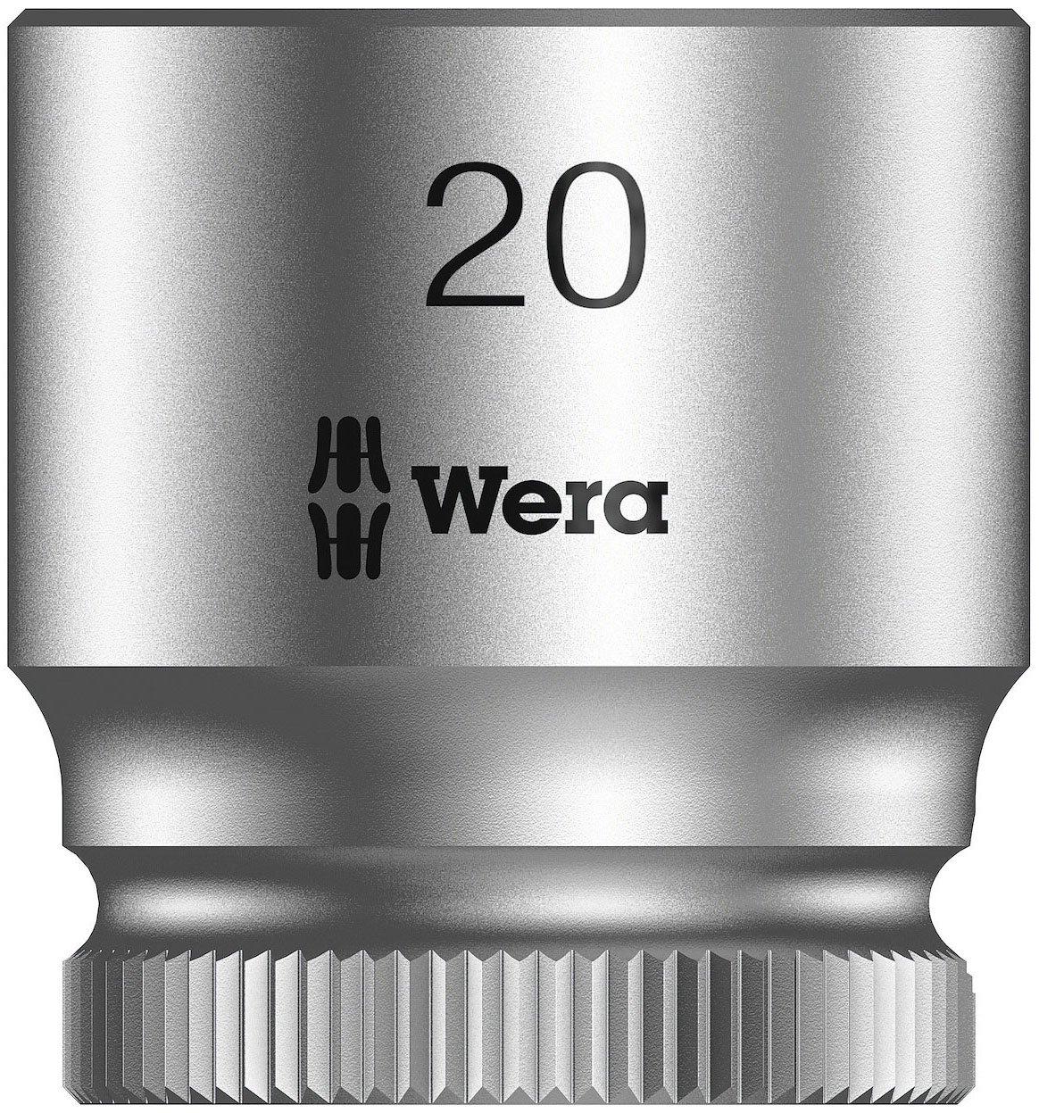 Hex Head 12mm x Length 29mm Wera Zyklop 8790 HMB 3//8-Inch Socket