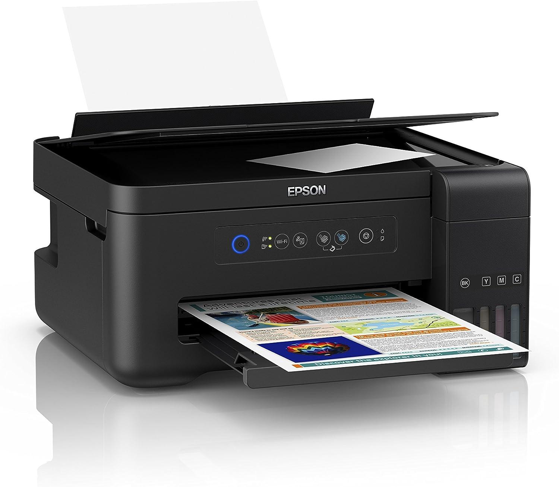 Epson ET-2700, Impresora Inalámbrica 3 en 1, Wi-Fi, USB, Color ...