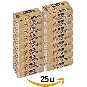 Pañuelos de Papel Reciclado Facial - Tissues con Dispensador Eco 150 unidades - 25 Estuches: Amazon.es: Salud y cuidado personal