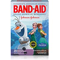 Band-Aid Brand Adhesive Bandages for Minor Cuts and Scrapes, Featuring Disney Frozen Characters, Assorted Sizes 150 Count total