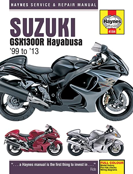 amazon com 1999 2013 suzuki hayabusa haynes repair manual 4184 rh amazon com 2012 Suzuki Hayabusa Limited Edition 2013 Suzuki Hayabusa