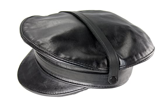 Mr-S-Leather Leather Cruising Cap - Medium (22-23