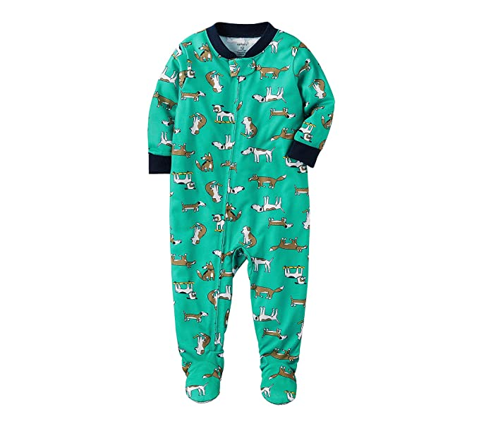 d65cb6991 Amazon.com  Carter s Baby Boys  12-24 Months One Piece Dog Print ...