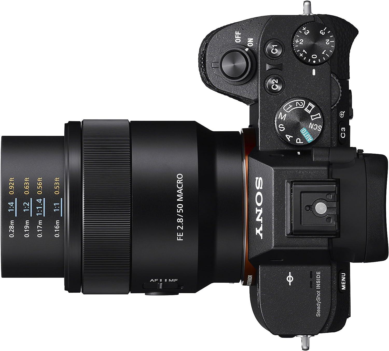 Sony SEL50M28 FE 50mm F2.8 Full Frame E-mount Lens Black