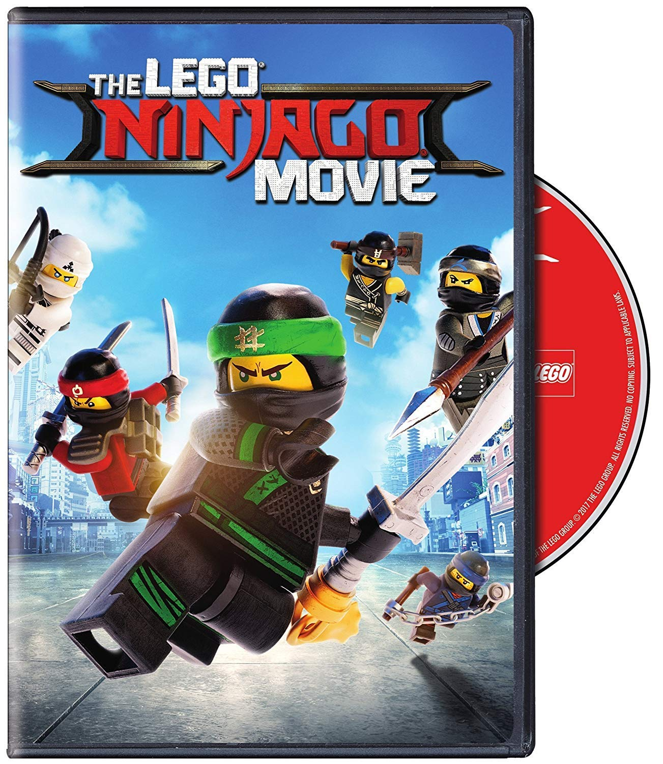 LEGO Ninjago Movie DVD 2018 Animation