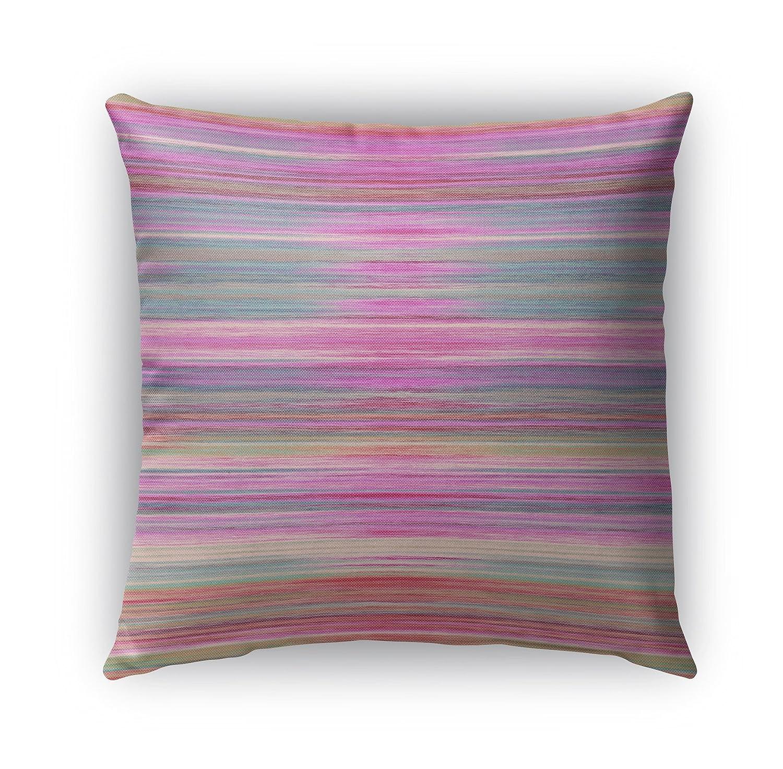 Kavka Designs抽象サンセットindoor-outdoor枕、(ピンク/パープル/ブルー) – Bohemiaコレクション、サイズ: 18 x 18 x 6 – (mgtavc2038op18 ) B06X97B92N