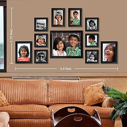 59f4370738 Buy Ajanta Royal Classic Set Of 11 Individual Photo Frames (6-4X4