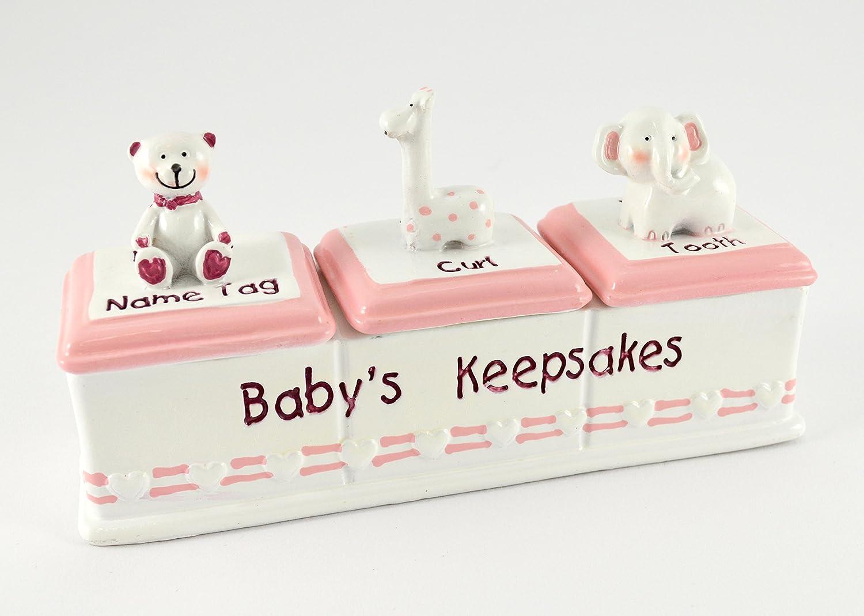 Caja para recuerdos de bebé: Amazon.es: Bebé