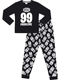 04dc1b383b 99 Problems Battle Royale Legend Gaming Cotton Long Pyjamas