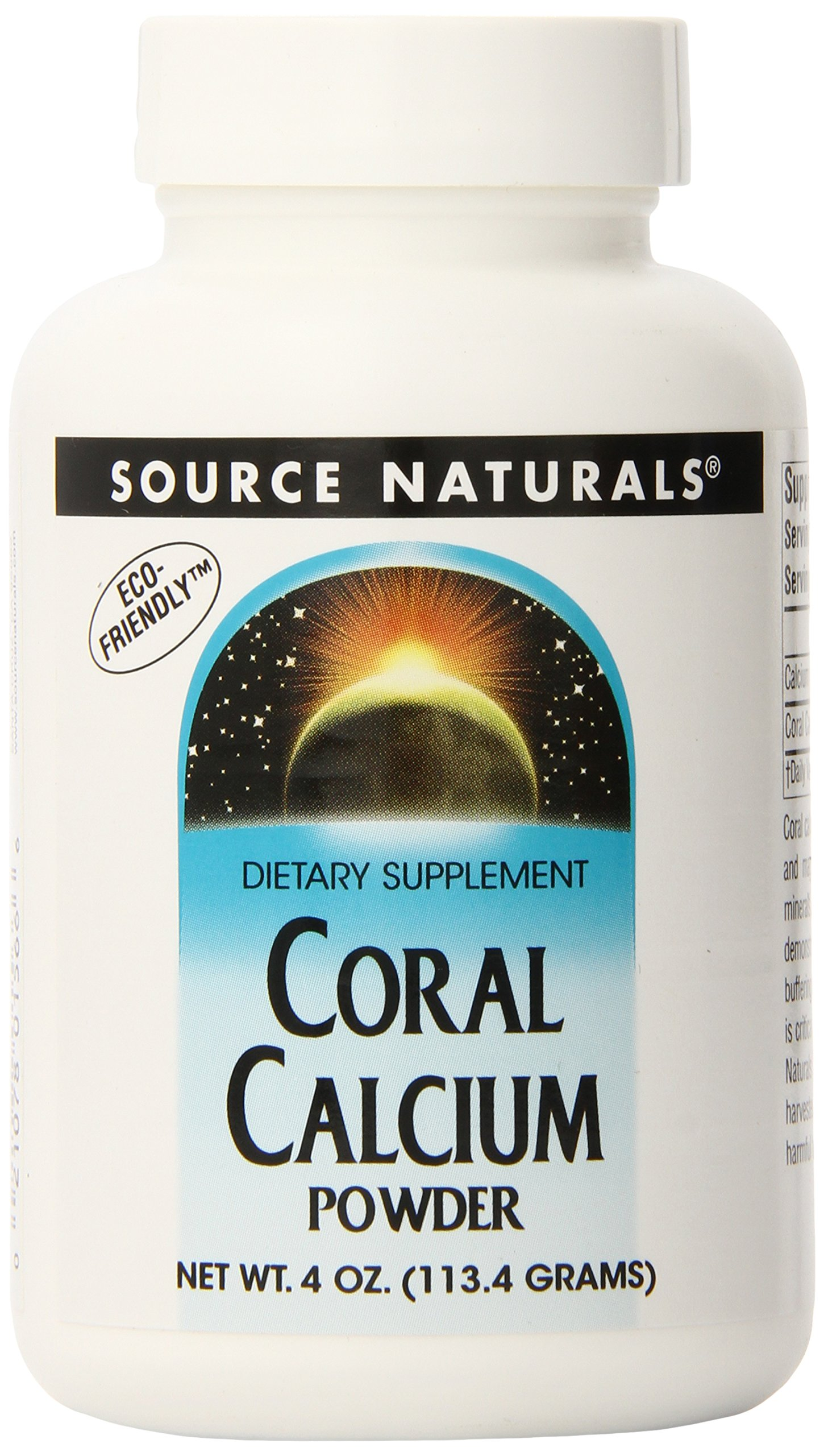 Source Naturals Coral Calcium Powder, 4 Ounce