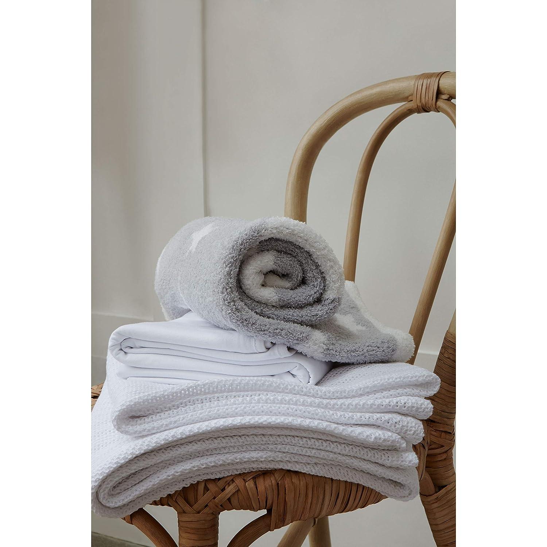 Pink Mothercare Cellular Cot Bed Blanket