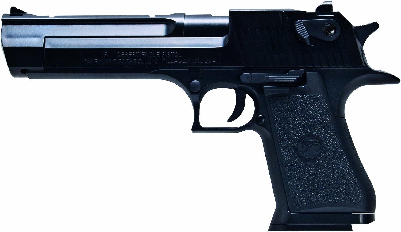Desert Eagle Softair Pistole .50 Ae - Arma de Airsoft (0,5 Julios, 6 mm), Color Negro