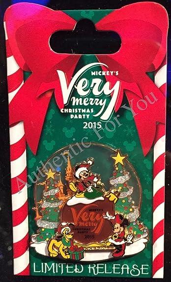 new 2015 disney mvmcp mickeys very merry christmas party limited release pin mickey minnie - Mickey Merry Christmas