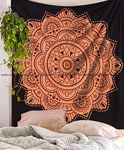 SARA NELL Tapestry Black Girl Afro Girls African American Girl Black Art Tapestries Hippie Art Wall Hanging Throw Tablecloth 60X90 Inches for Bedroom Living Room Dorm Room