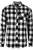 Mens Tokyo Laundry Carlsson Flannel Check Design Brushed Cotton Lumberjack Shirt