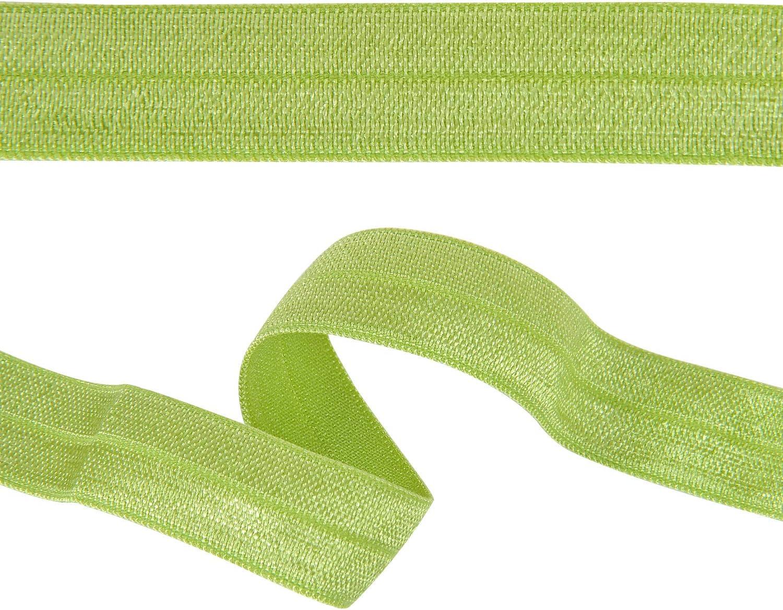 ribbon Red Eyelash- Fold over elastic FOE stretch