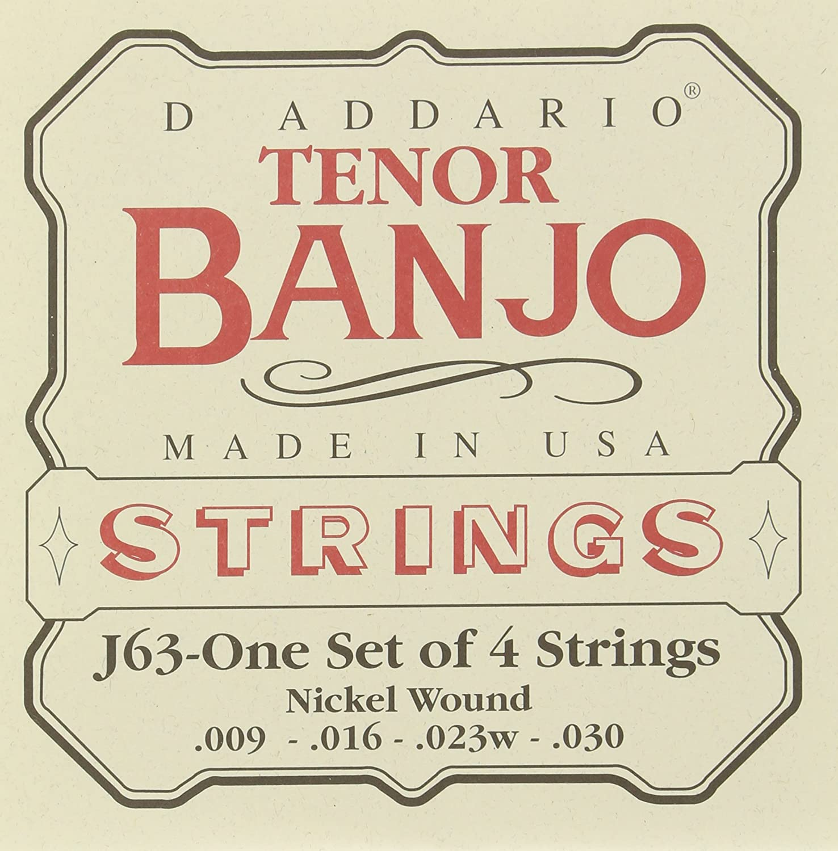D'Addario J63 Tenor Banjo Strings D'Addario &Co. Inc