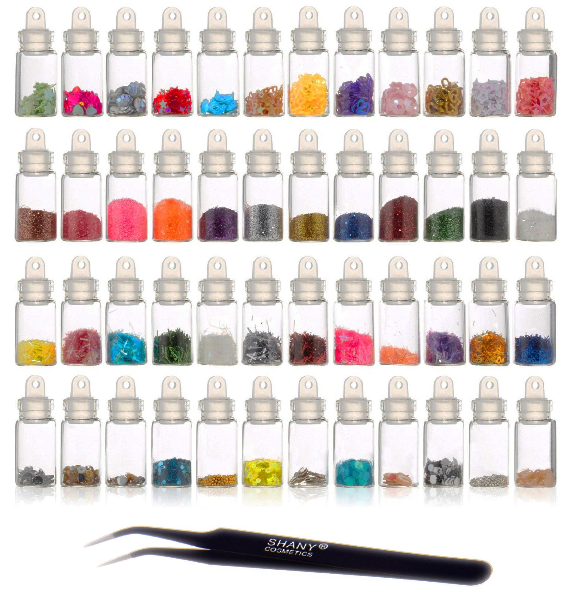 Amazon.com : SHANY Cosmetics 3D Nail Art Decoration Mini Bottles ...