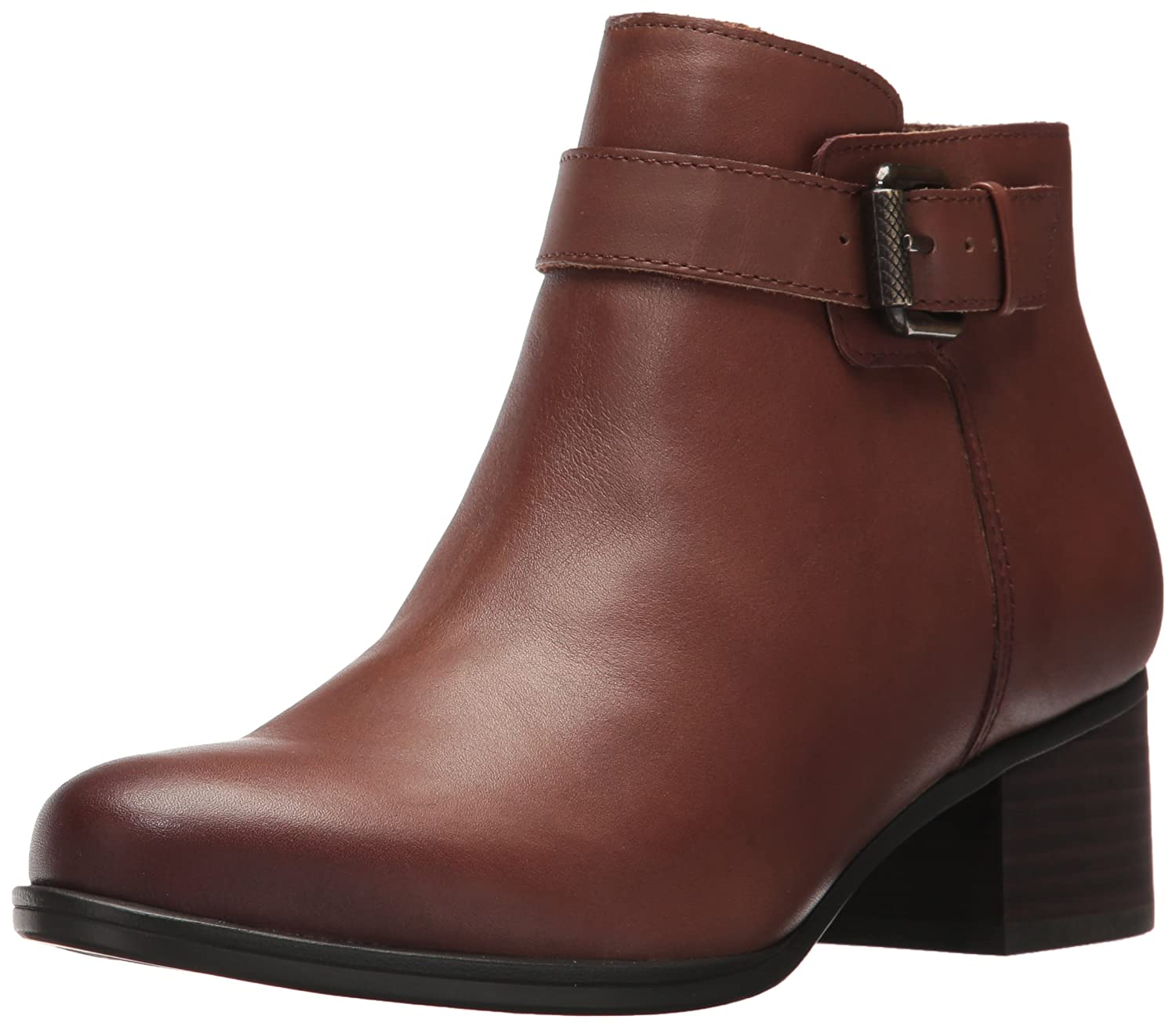 Naturalizer Women's Dora Ankle Bootie B06VVV7Q7L 11 W US|Coffee
