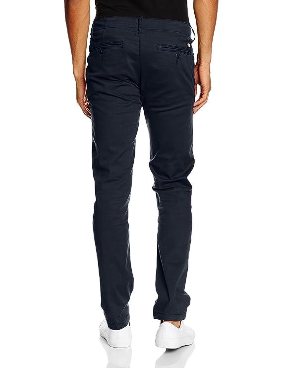 Slim Fit Work Pant Pantalones, Hombre, Azul (Navy Blue Nv), (Tamaño del fabricante:34/34) Dickies