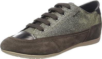 Geox Women/'s D New Moena a Low-Top Sneakers