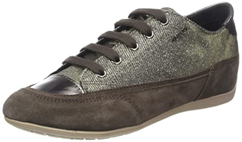 Womens D New Moena a Low-Top Sneakers Geox 7RIsUFadyq