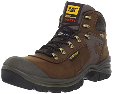 Caterpillar Men's Pneumatic Work Boot,Dark Brown,9.5 ...