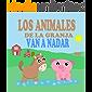 Los Animales de la Granja Van a Nadar: Libros de Animales para Niños Pequeños - Libros Infantiles Ilustrados y Divertidos sobre Animales (Libros de Animales para Leer nº 1) (Spanish Edition)