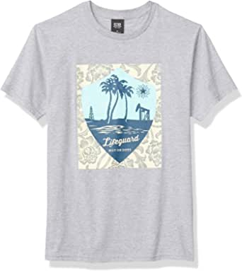 OBEY Men's Basic SS, Lifeguard NOT ON Duty TEE