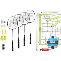 Franklin Sports Advanced Badminton/Volleyball Set
