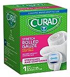 """Curad CUR47439ERB Rolled Gauze Bandage, 2"""" x 4.1 yd"""