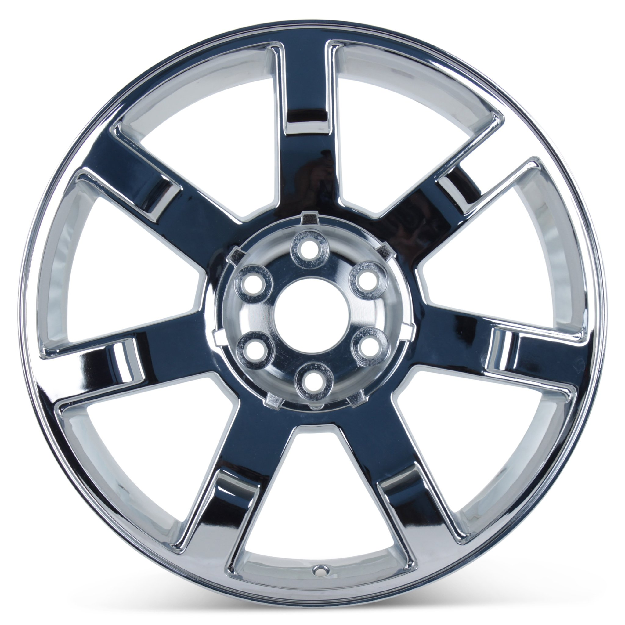 New 22'' x 9'' Replacement Wheel for Cadillac Escalade 2007-2013 Rim Chrome 5309 by Cadillac (Image #2)