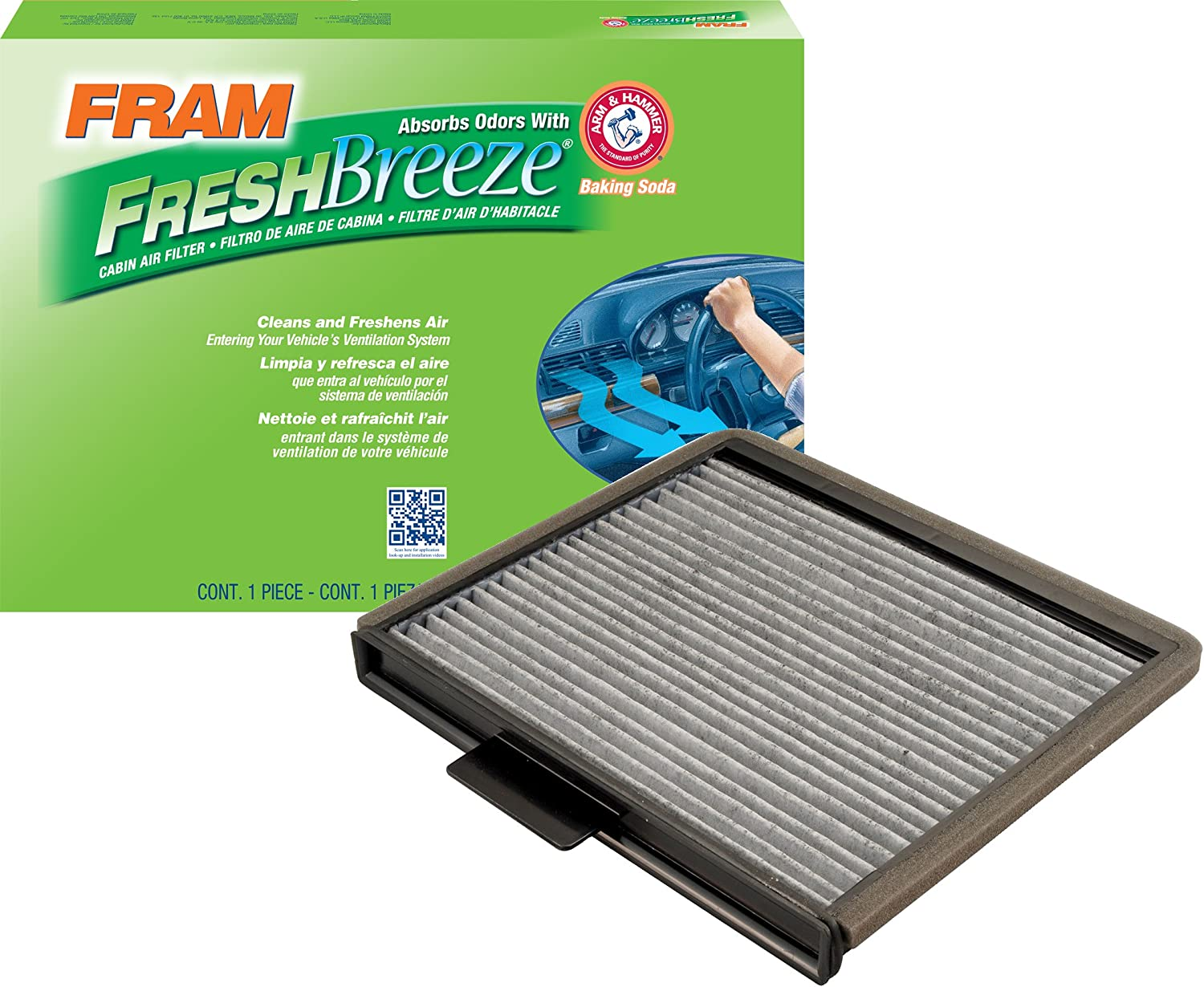 FRAM CF8631A Fresh Breeze Cabin Air Filter