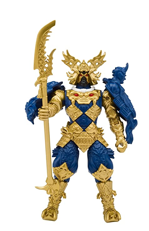 Power Rangers Super Ninja Steel Villain Galvanex Gengetsu Action Figure, Villain Galvanax