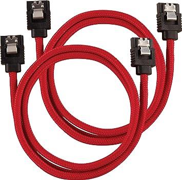 SATA 6Gbps 60 cm White CORSAIR Premium Shielded SATA Cable