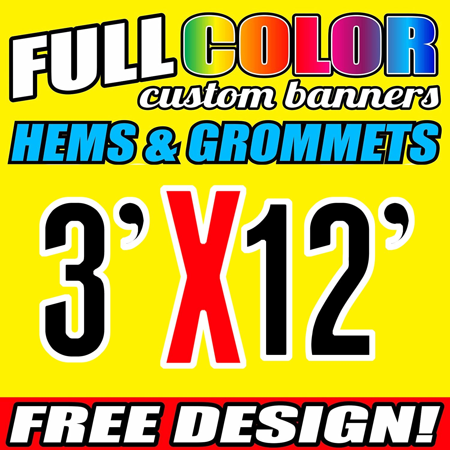 SIGN HEAVY DUTY 8ft x 6ft Free design !! CHEAP OUTDOOR PVC BANNERS WATERPROOF